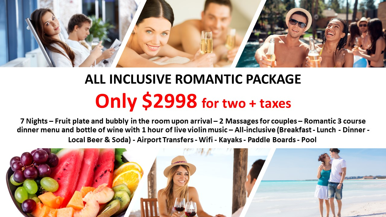 ALL INCLUSIVE ROMANTIC PACKAGE